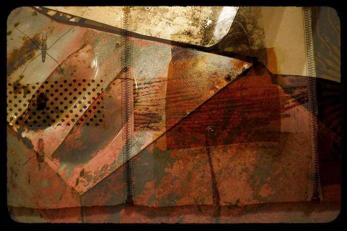 Abstract Photo Collage
